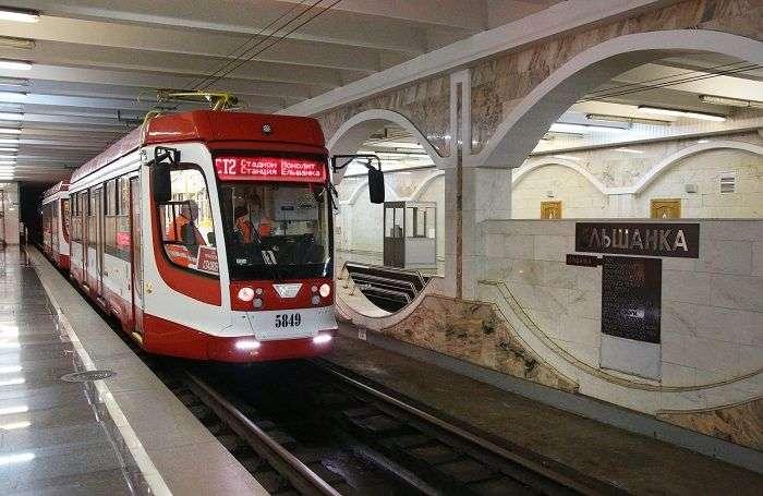 Челябинские трамваи начали работу в Волгограде