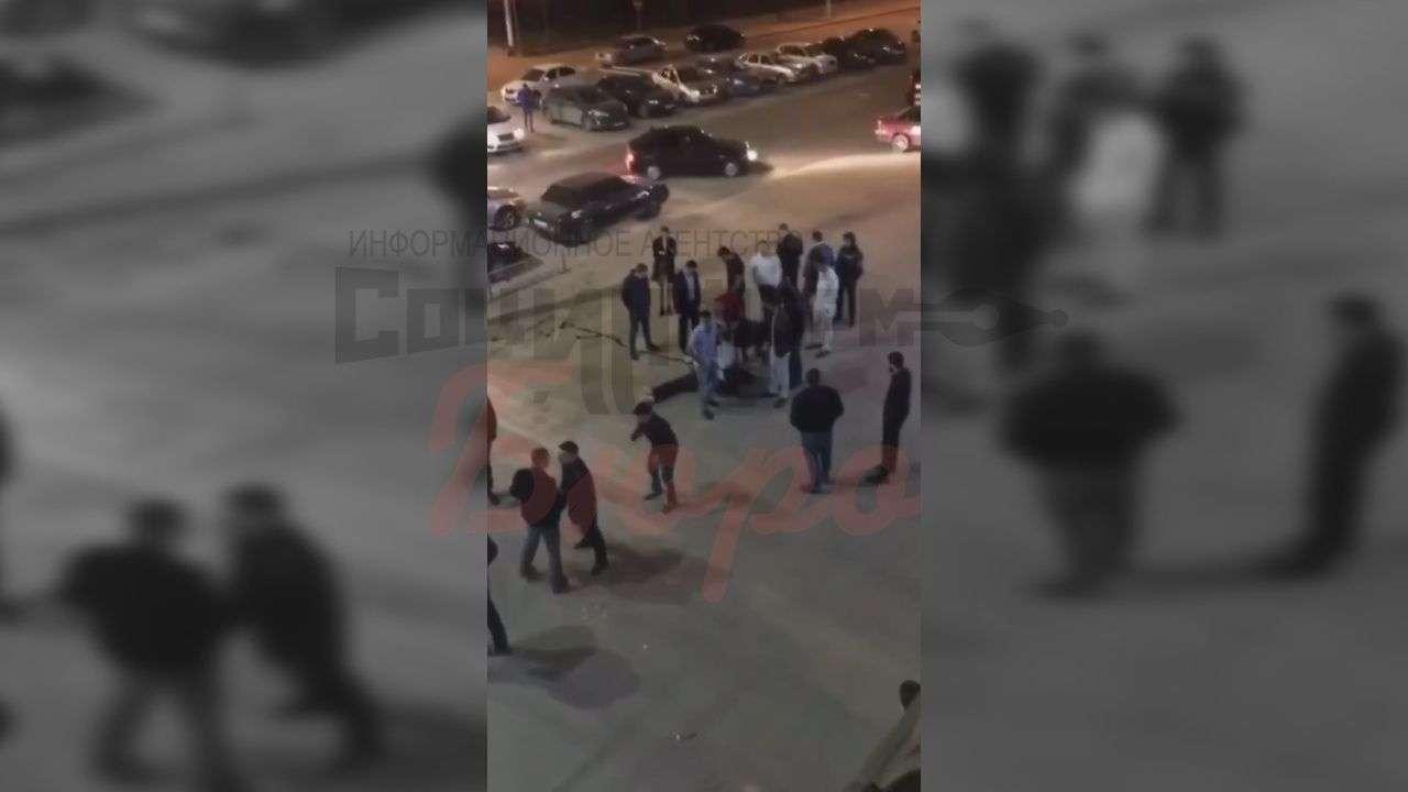 Опубликовано видео ночной драки в Речном порту Волгограда