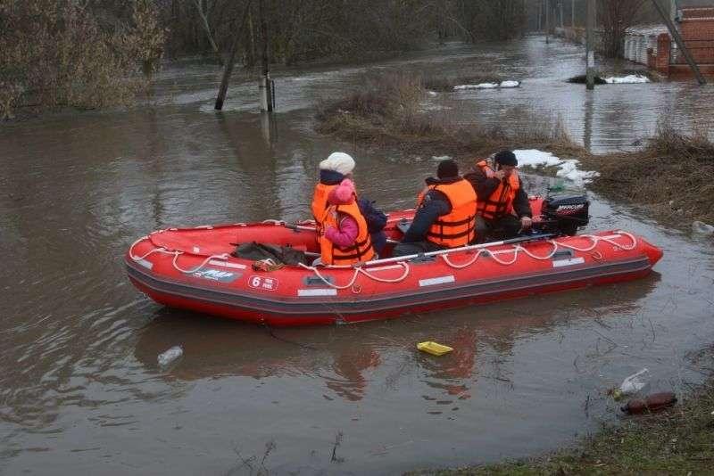 В Волгоградской области осложнилась паводковая обстановка