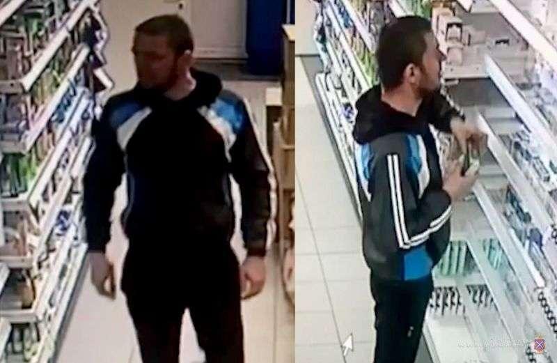 Полиция просит опознать по видео похитителя духов