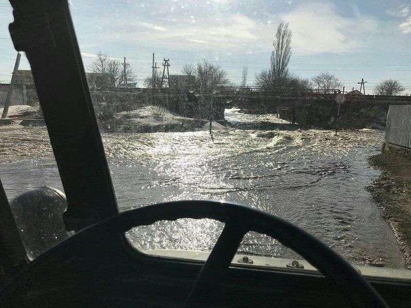 Волгоградская область начинает уходить под воду