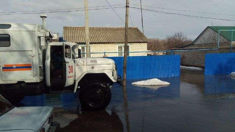 Районы Волгоградской области уходят под воду