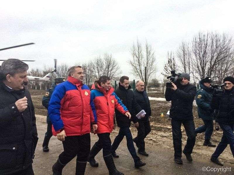 Владимир Пучков приземлился в хуторе Безымянка