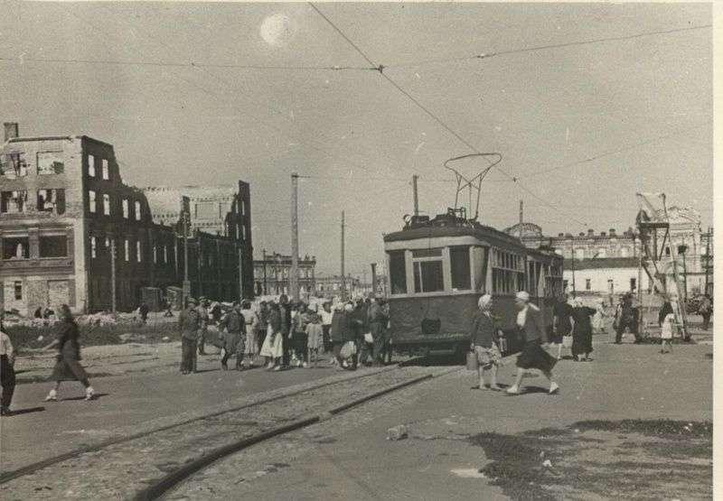 Волгоградский трамвай празднует юбилей