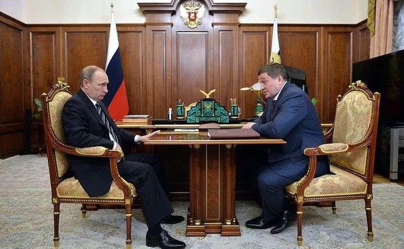 Президент встретится с губернатором Волгоградской области