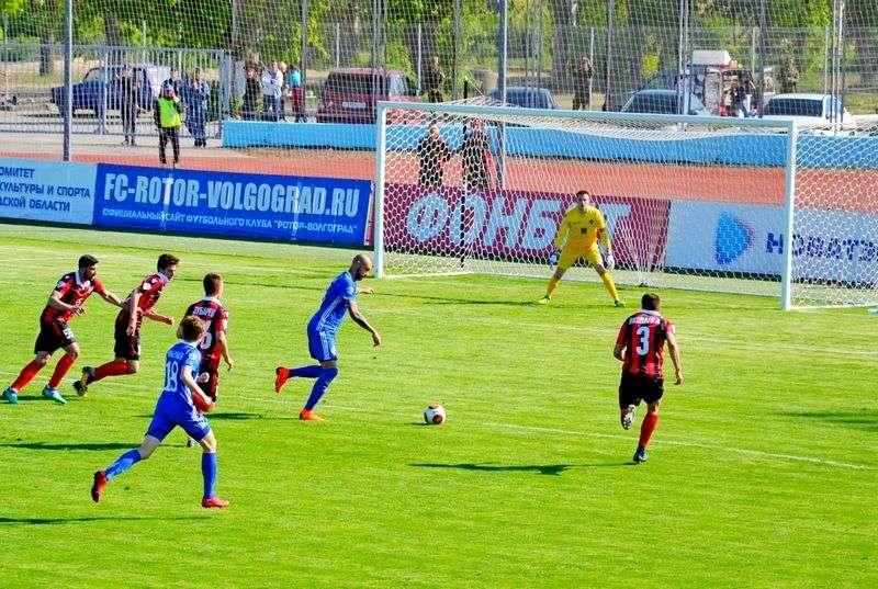«Ротор-Волгоград» - ФК «Химки» - 3:1 (2:1).