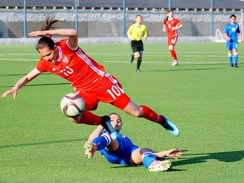 Россиянки дважды обыграли Азербайджан