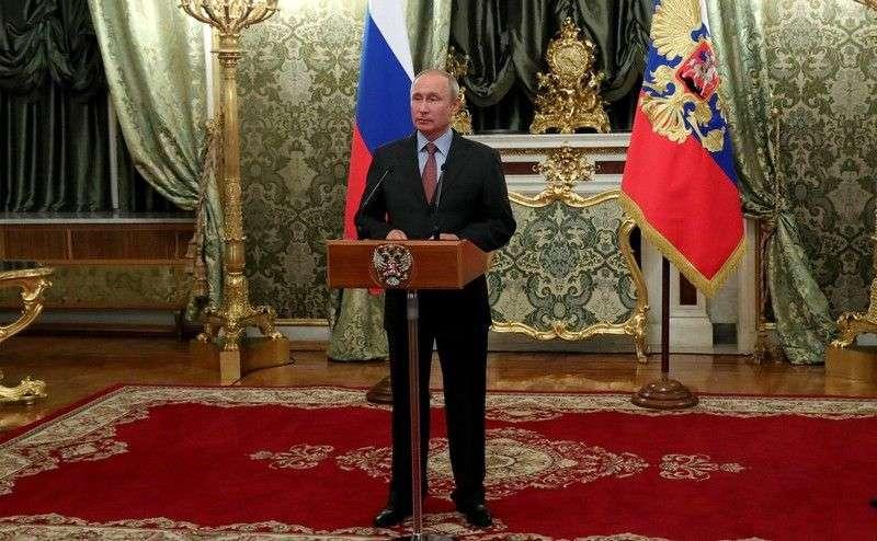 Владимир Путин в четвертый раз вступил в должность президента
