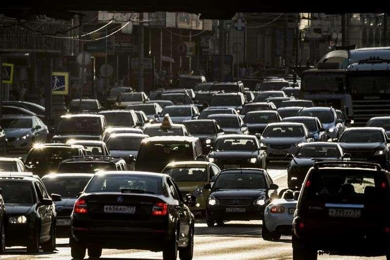 Пробки в Волгограде достигли 6 баллов
