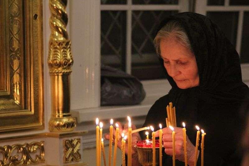 Волгоградцы помолились за погибших 40 дней назад кемеровчан