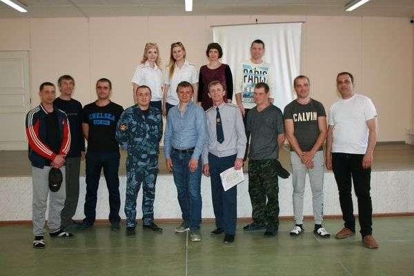 Экс-футболист «Ротора» Александр Зернов встретился с осужденными