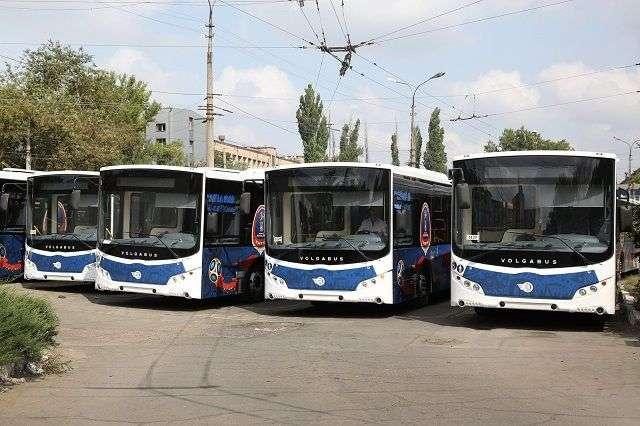 Для болельщиков Волгограда запустили специальные шаттлы