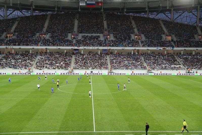 Финал Кубка России на «Волгоград Арене» посмотрели  40 тысяч зрителей и Виталий Мутко