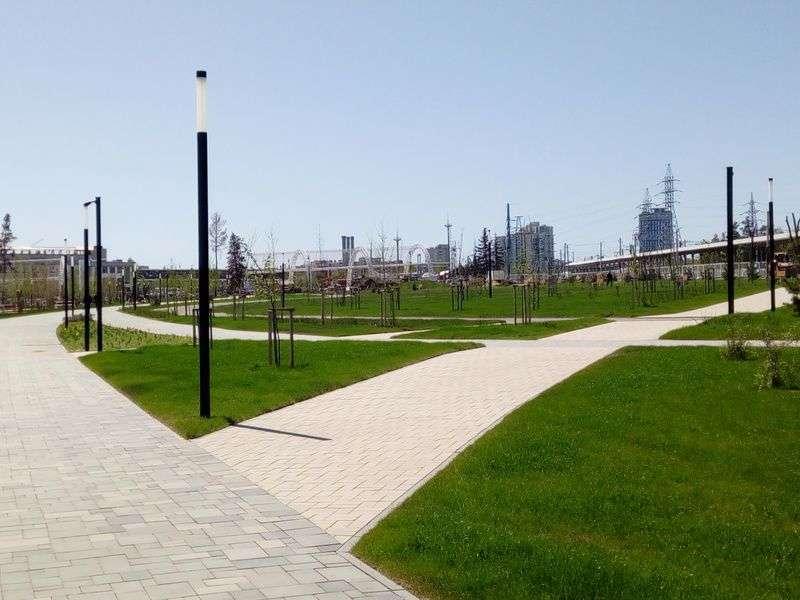 Губернатор региона отправился с инспекцией в Мемориальный парк