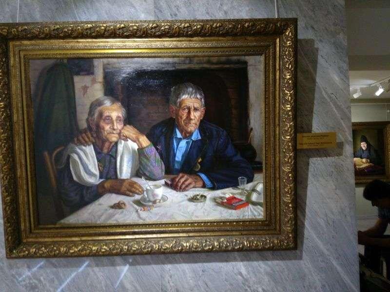 Известный художник Александр Шилов