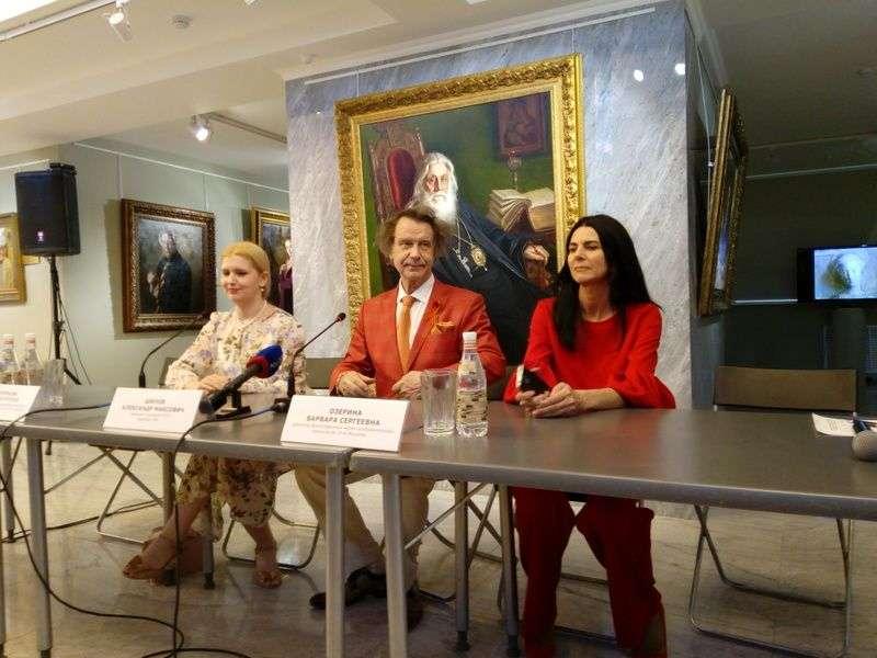 Известный художник Александр Шилов покорил волгоградских журналистов прямотой ответов