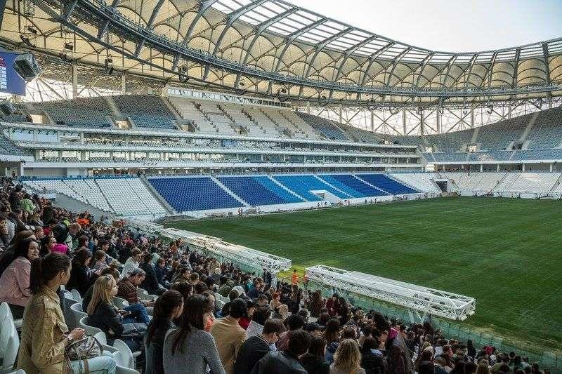 Стадион «Волгоград Арена» прошел испытание финалом Кубка России