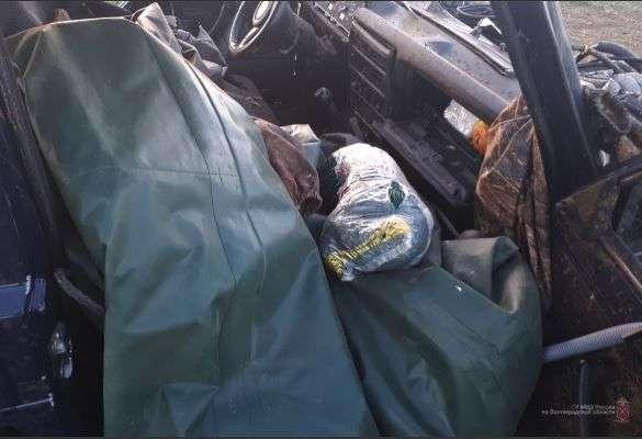 Под Волгоградом пьяный водитель устроил гонки с полицией