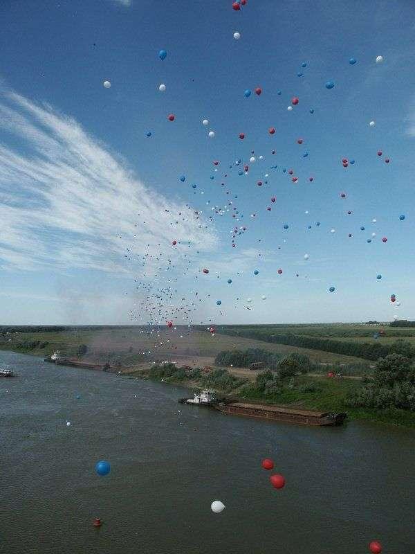 В Волгограде 20 мая в небо выпустят 300 шаров