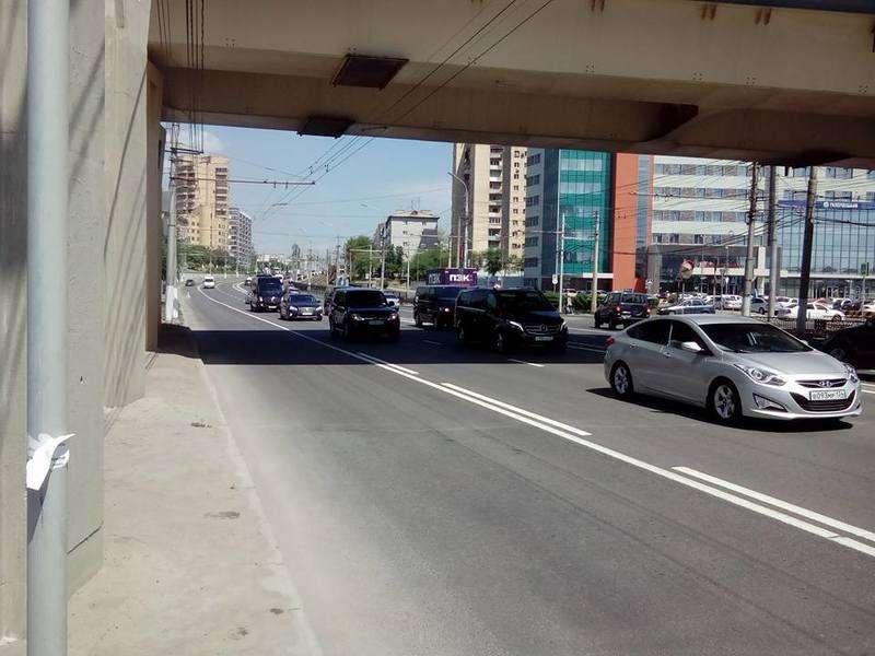 Приезд Валентины Матвиенко в Волгоград создал заторы на дороге