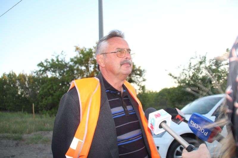 Журналистам показали, как ведется ремонт Третьей продольной магистрали