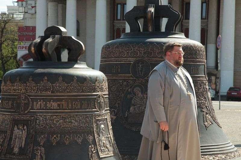 На главной площади Волгограда раздастся колокольный звон