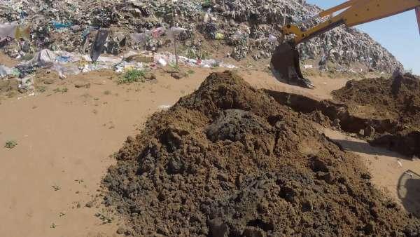 На мусорном полигоне в Светлоярском районе обнаружили опасный фильтрат