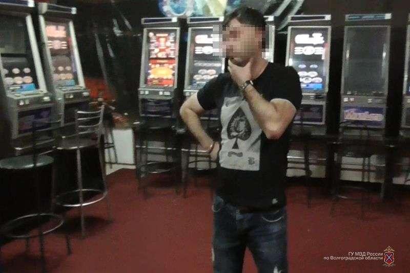 В Волгоградском магазине нашли подпольное казино