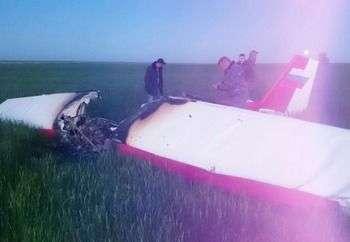 По факту крушения легкомоторного самолета прокуратура организовала проверку