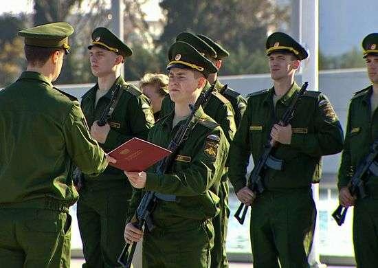 Волгоградская область отличилась в конкурсе призывников