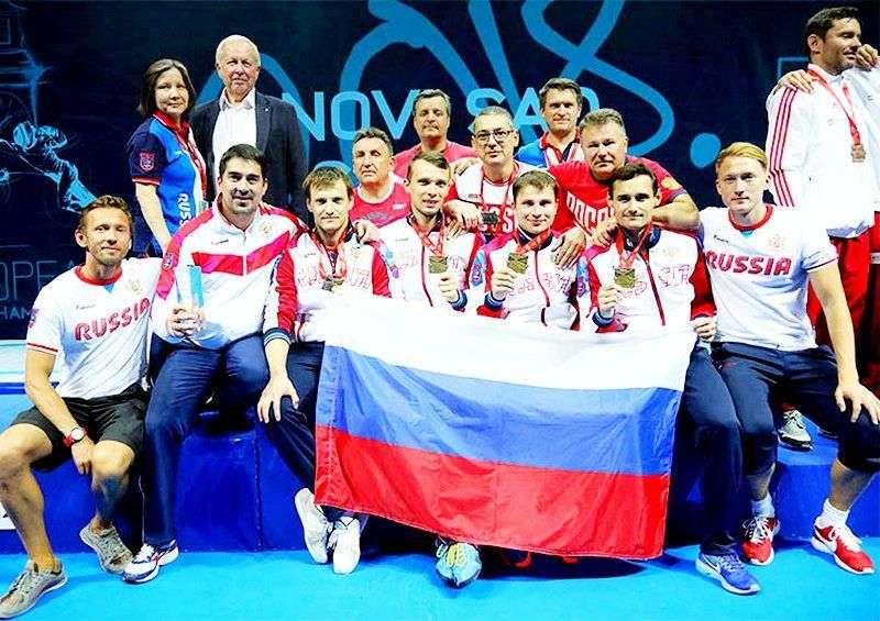 Российские «мушкетеры» победили на Чемпионате Европы