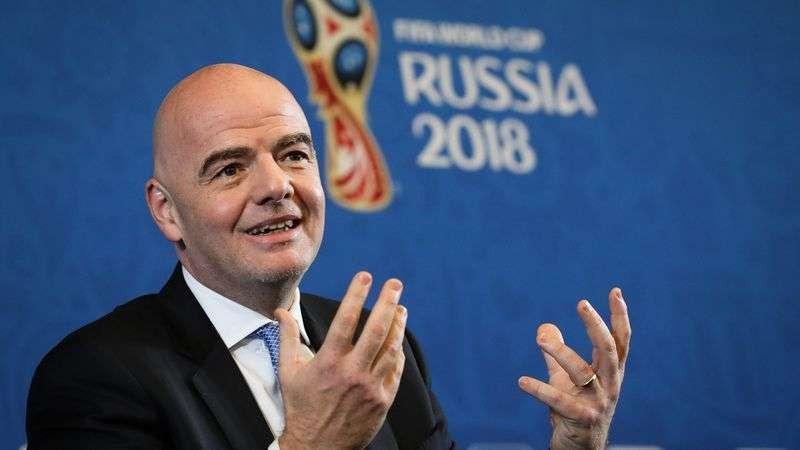Президент FIFA Джанни Инфантино