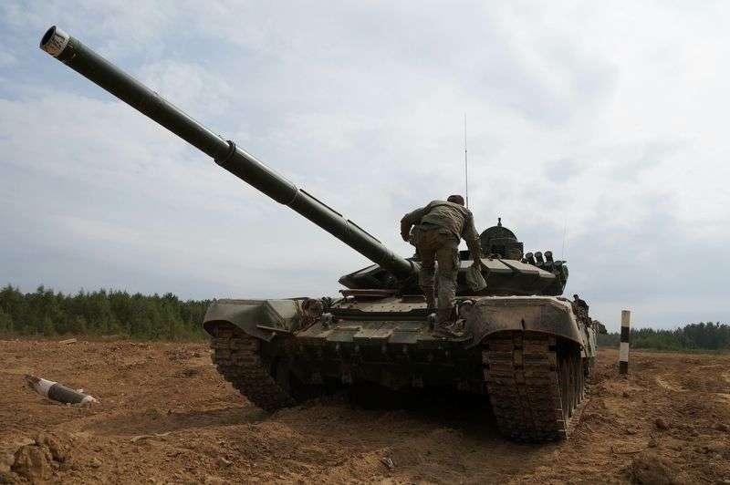 В регионе будут стрелять из танков