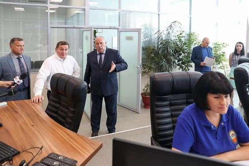 Бочаров проверил службу спасения