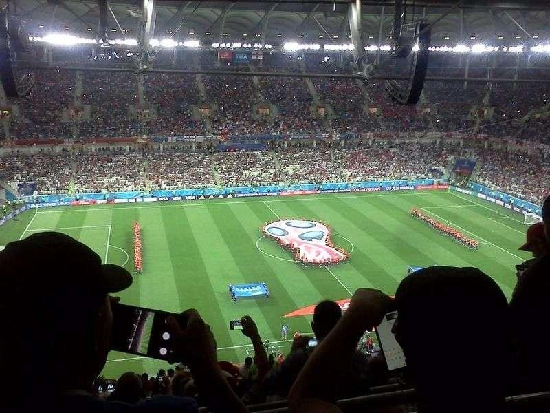 МегаФон выдержал первый матч на «Волгоград Арене»