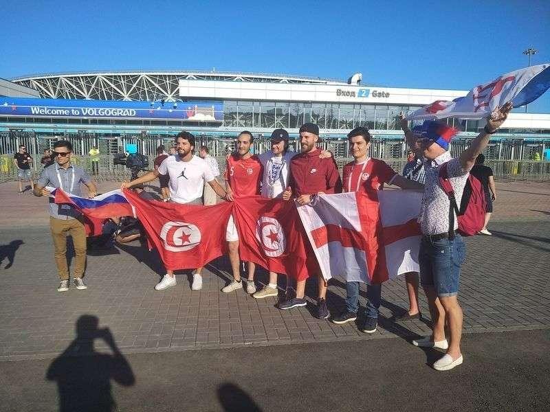 В Волгограде громко порадовались победе сборной России