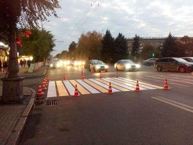 За два дня ЧМ 2018 в Волгограде закончили размечать дороги