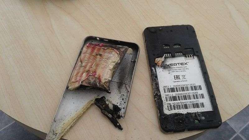 У волгоградской школьницы взорвался смартфон