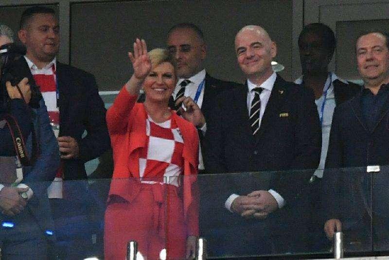 Президент Хорватии не жалеет, что намокла в России