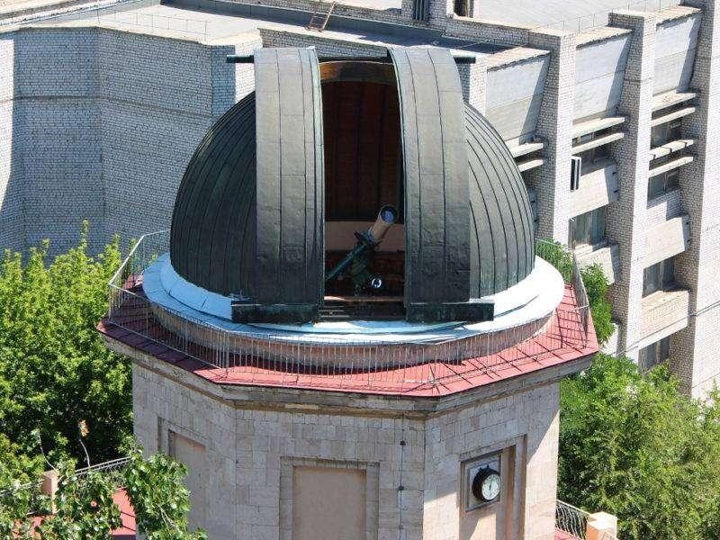 Волгоградцев приглашают посмотреть затмение через телескопы