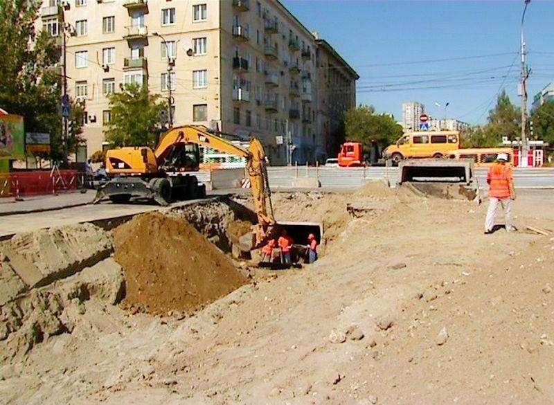 В Волгограде на месяц закрыли движение по улице Советской