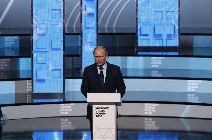 Путин анонсировал масштабную программу по преобразованию городов России