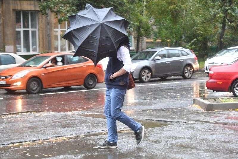 Экстренные службы предупреждают о сильных дождях в течение дня