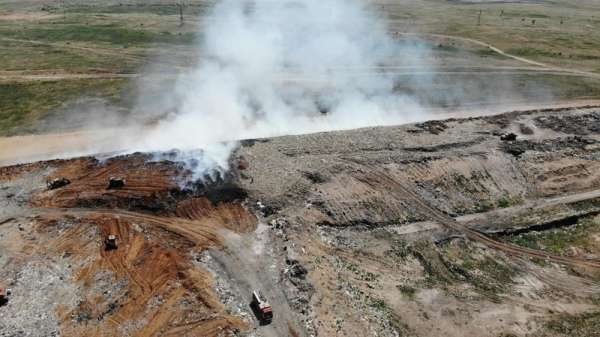 «Комус» наказали за пожар в Светлоярском районе