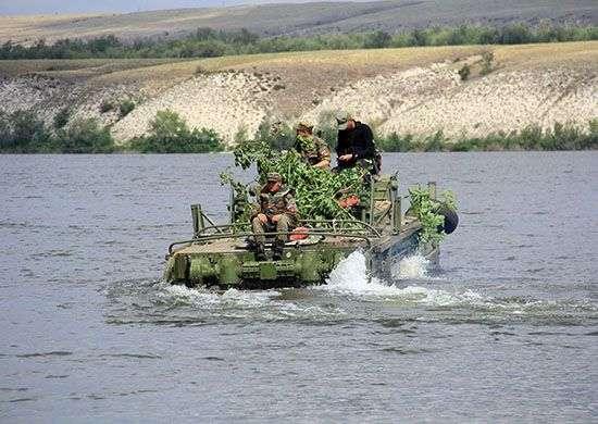 Волгоградский десант захватил берег Дона