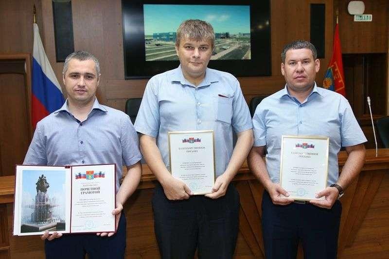 Волгоградские власти отблагодарили «Концессии»