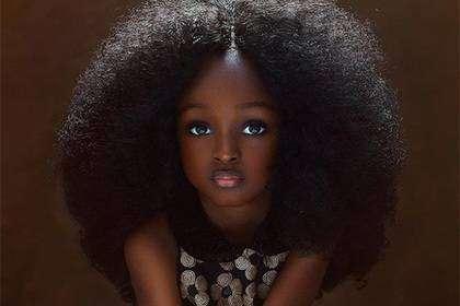 """""""Самая красивая девочка в мире"""" живет в Нигерии"""