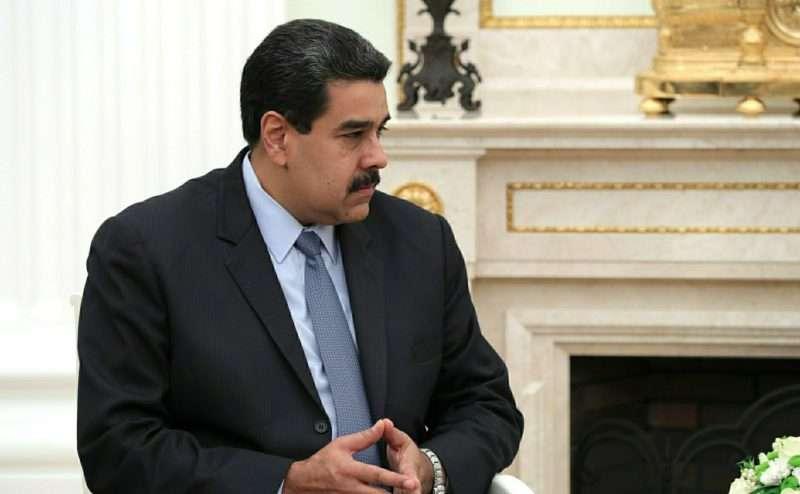 Покушение на президента в Каракасе попало на видео