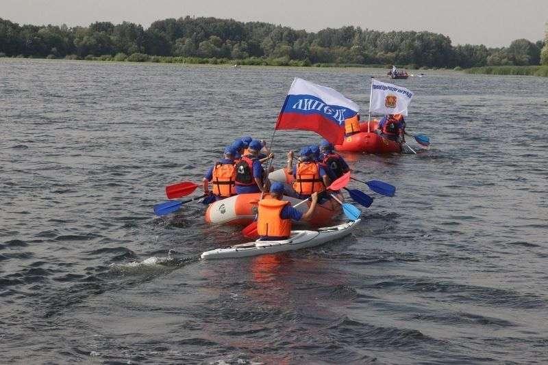 Туристы из Липецка завершили водный поход в Волгоград