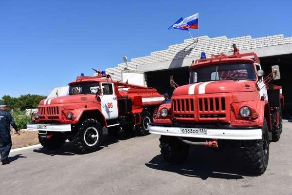 В регионе заработало новое подразделение противопожарной службы